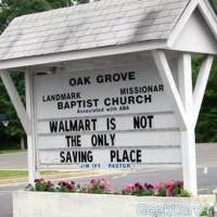 Walmart is not the only saving place.
